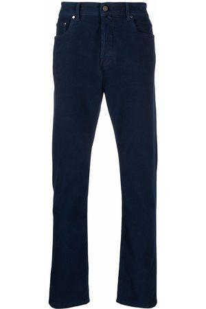 Jacob Cohen Men Slim - Logo-patch slim-fit jeans