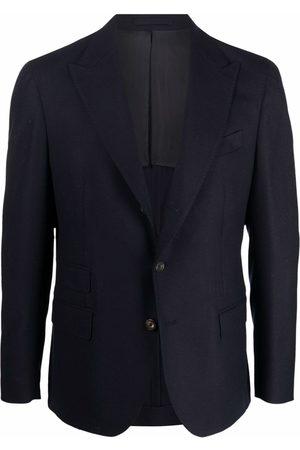 ELEVENTY Buttoned-up wool blazer