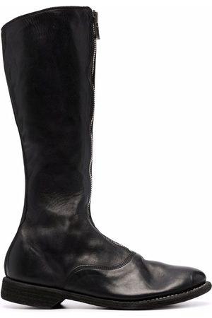 GUIDI Women Thigh High Boots - Zipped knee-length 25mm boots