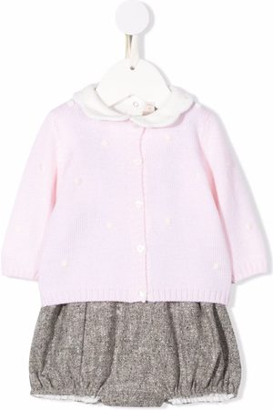LA STUPENDERIA Bodysuits & All-In-Ones - Knitted contrast babywear set