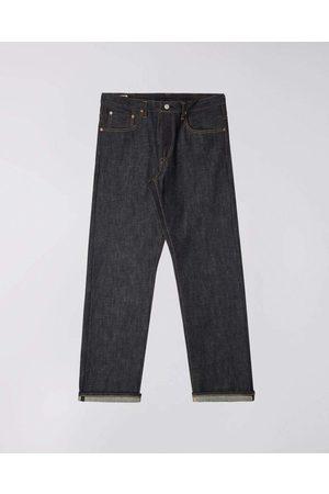 Edwin Men Straight - Loose Straight Nihon Menpu Jeans - Dark Indigo , Raw State
