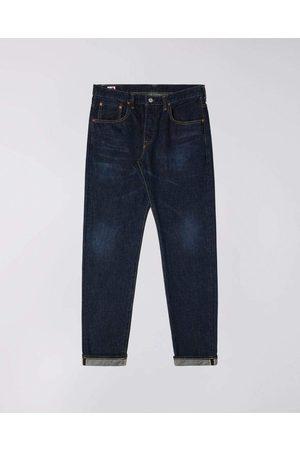 Edwin Regular Tapered Nihon Menpu Jeans - Dark Pure Indigo , Dark Used