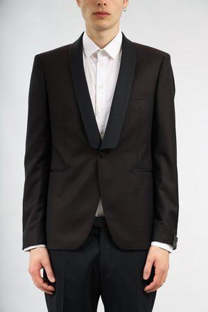 TAGLIATORE Men Jackets - Microfantasia tuxedo jacket cutter