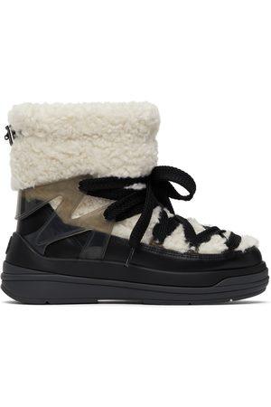Moncler Women Boots - Beige & Black Insolux M Boots