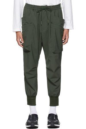 Y-3 Men Cargo Pants - Green Ripstop Utility Cargo Pants