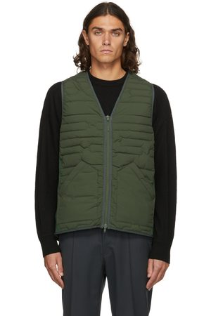 Y-3 Green Insulated Cloud Vest