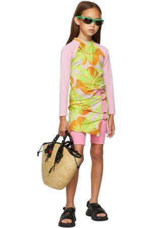 Louisa Ballou Rings - SSENSE Exclusive Kids Pink Double Ring Skirt