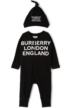 Burberry Baby Cleo Logo Bodysuit Set