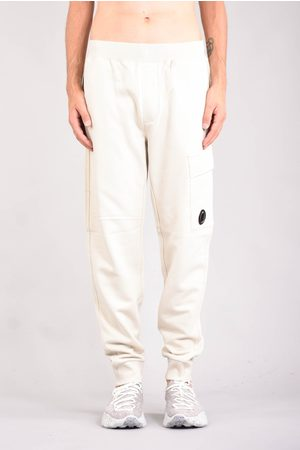 CP Company Men Cargo Pants - C.P. COMPANY Pantaloni cargo in felpa