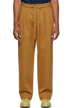 King & Tuckfield Men Pants - Grant Belted Trousers