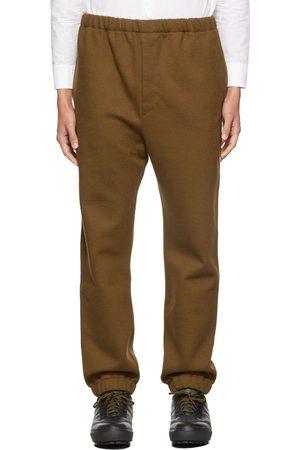 LEMAIRE Men Sweats - Khaki Fleece Lounge Pants
