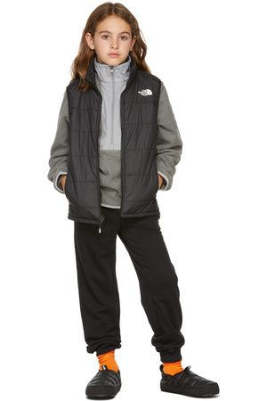 The North Face Kids Black Insulated Reactor Vest