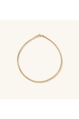 Mejuri Men Bracelets - Round Box Chain Bracelet