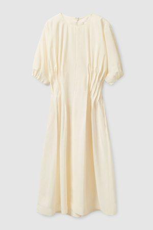 COS Women Midi Dresses - GATHERED MIDI DRESS
