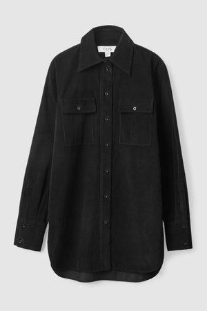 COS Women Shirts - REGULAR-FIT CORDUROY UTILITY SHIRT