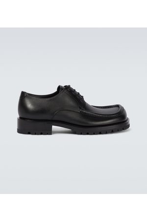 DRIES VAN NOTEN Leather lace-up loafers