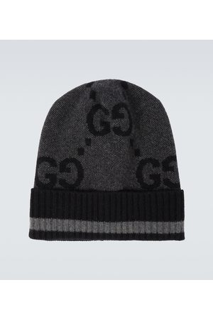 Gucci GG knitted cashmere hat