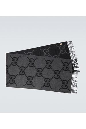 Gucci Cashmere GG jacquard scarf