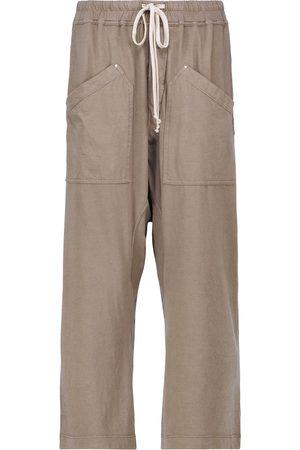Rick Owens DRKSHDW Cargo cropped cotton pants
