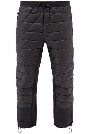 Holden Men Sweatpants - Hybrid Down Nylon Track Pants - Mens - Black