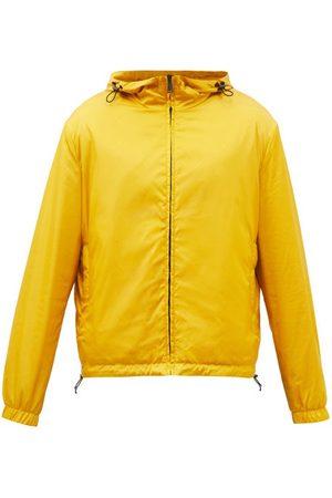 Fendi Reversible Hooded Ff-logo Windbreaker Jacket - Mens - Multi