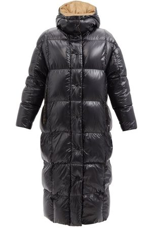 Moncler Parnaiba Quilted Lacquered-nylon Down Coat - Womens