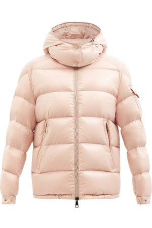 Moncler Women Jackets - Maire Hooded Quilted Down Coat - Womens - Light