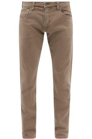 Citizens of Humanity Men Tapered - Adler Garment-dyed Tapered-leg Jeans - Mens - Light