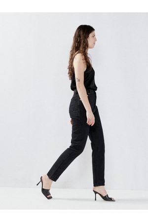 Raey Women High Waisted - Rise Organic-cotton High-waist Straight-leg Jeans - Womens