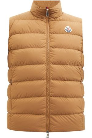 Moncler Ghany Quilted Down Gilet - Womens - Camel