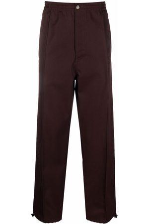 Marni Men Sweatpants - Wide-leg virgin wool track pants