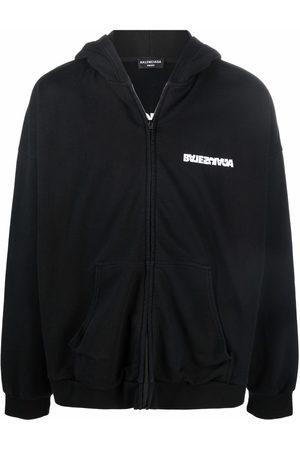 Balenciaga Turn Wide Fit zip-up hoodie
