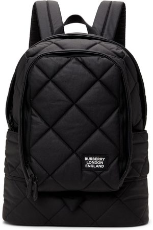 Burberry Men Luggage - Quilted Large Diamond Backpack