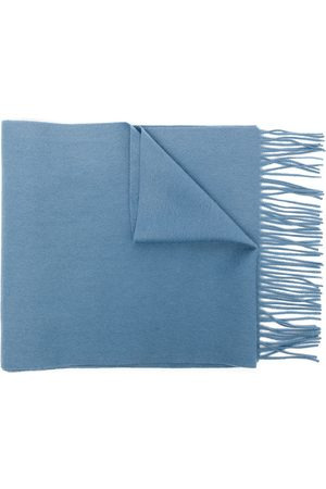 N.PEAL Scarves - Woven fringe scarf