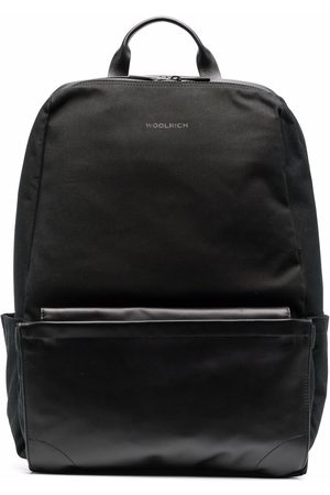 Woolrich Panelled zip-up backpack