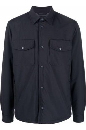 Woolrich Travel wool shirt jacket