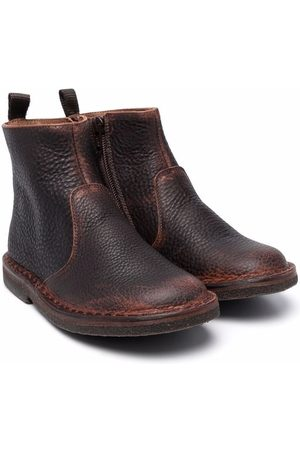PèPè Grained leather ankle boots