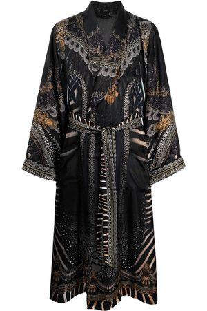 Camilla Men Bathrobes - Quechua King long silk robe