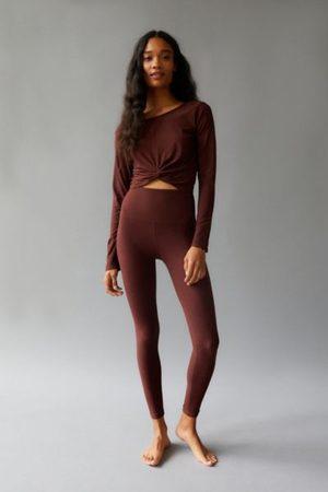 Beyond Yoga Women Leggings - Caught In The Midi Space-Dye High-Waisted Legging