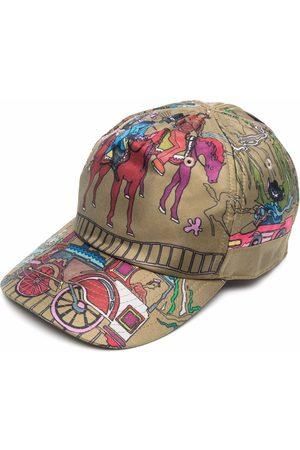 CANALI Men Caps - Graphic-print cap