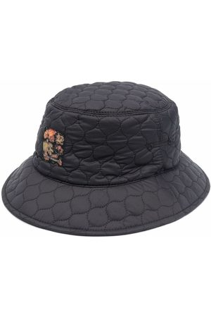 Emporio Armani Quilted-finish bucket hat