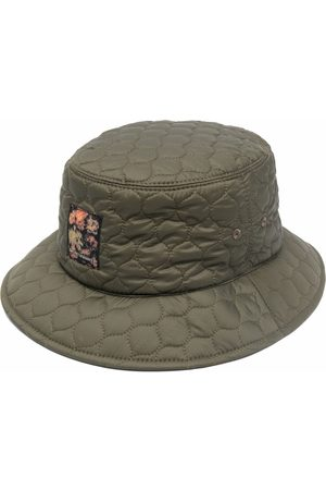 Emporio Armani Men Hats - Logo patch quilted bucket hat