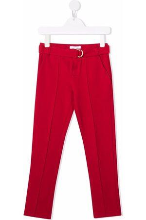 Chloé Girls Skinny Pants - Skinny-cut trousers