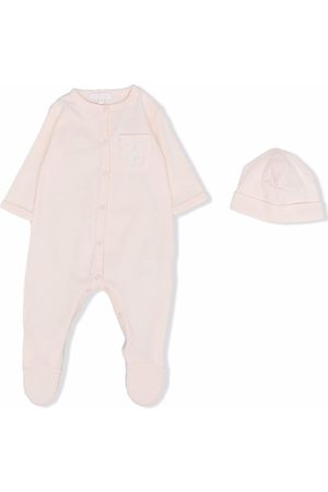 Chloé Bodysuits & All-In-Ones - Logo-patch babygrow set
