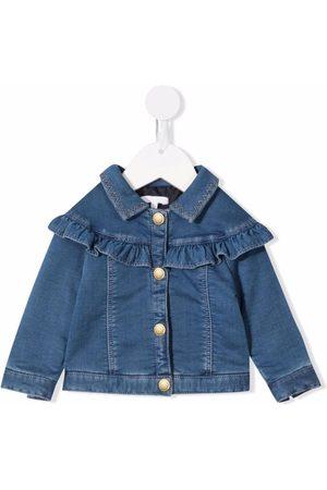 Chloé Ruffled detail denim jacket