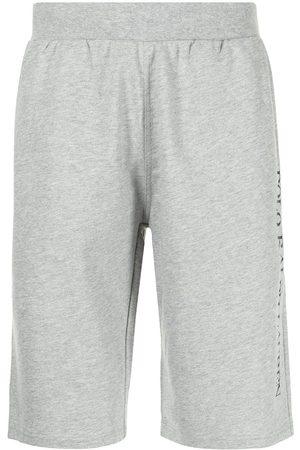 Polo Ralph Lauren Men Sports Shorts - Logo-print track shorts - Grey