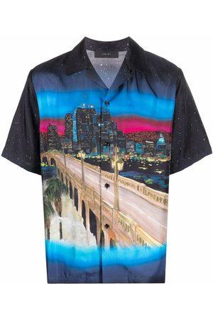 AMIRI Men Short sleeves - Graphic-pritn short-sleeve shirt