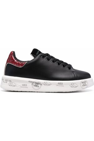 Premiata Women Sneakers - Belle low-top leather sneakers
