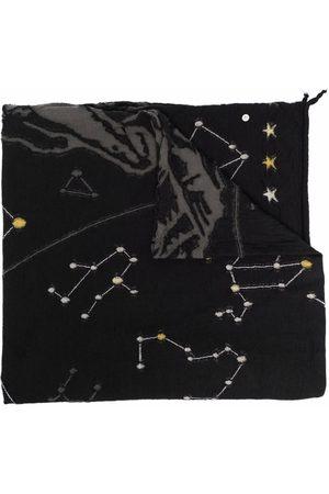 KAPITAL Men Scarves - Contrasting-stitch design scarf