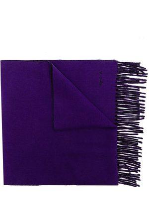 AGNÈS B. Scarves - Fringe-trimmed wool-blend scarf